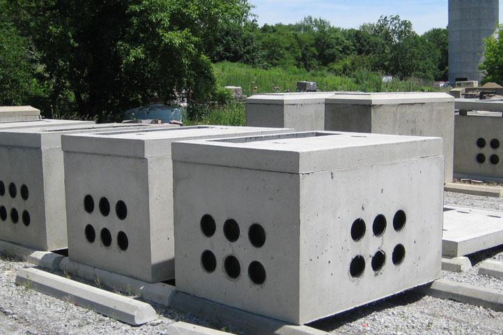 Precast Concrete Collar : Spoerr precast concrete sandusky ohio